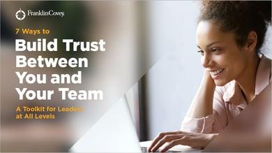 7 Ways to Build Trust omslag