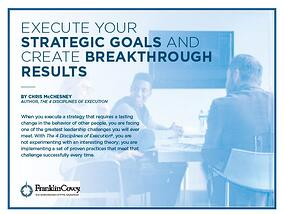 Execute Your Strategic Goals and Create Breakthrough Results_pic